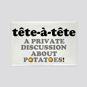 TET A TETE -. PRIVATE DISCUSSION ABOUT PO Magnets