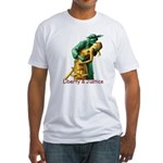 Liberty & Justice Together Fitted T-Shirt