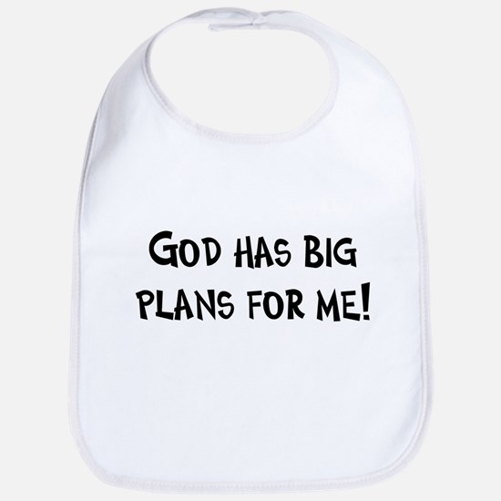 God's Plan for Me Bib