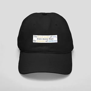 Hard Work Vs Prayer Baseball Cap Hat