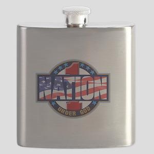 1Nation logo Flask