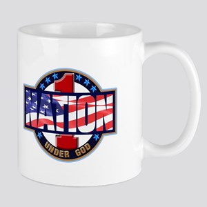 1Nation logo Mugs