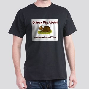 Guinea Pig Addict Dark T-Shirt