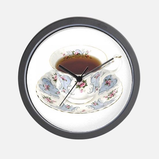A Cup of Tea On Your Wall Clock