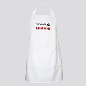 Rather Be Riding BBQ Apron