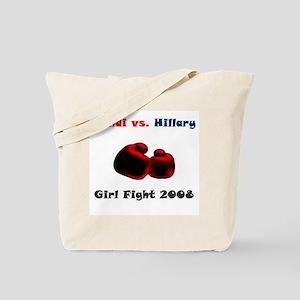 Condoleeza Rice vs. Hillary Clinton Tote Bag