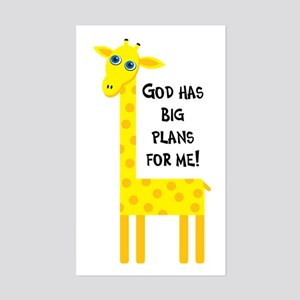 Cute Christian Rectangle Sticker