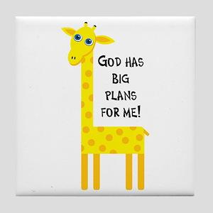 Cute Christian Tile Coaster