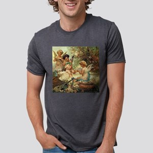 Victorian Angels by Zatzka White T-Shirt