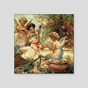 Victorian Angels by Zatzka Sticker