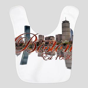 Boston Polyester Baby Bib