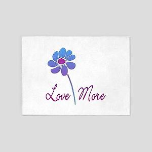 Love More Daisy 5'x7'Area Rug