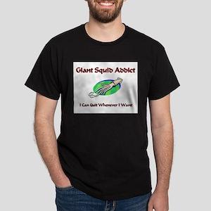 Giant Squid Addict Dark T-Shirt