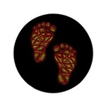 "Tribal Toes 3.5"" Button (100 pack)"