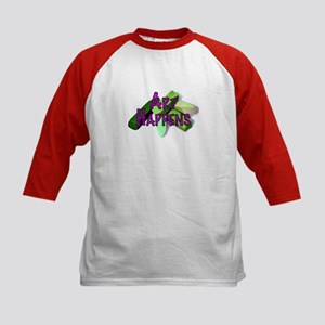 Art Happens Pastels Kids Baseball Jersey