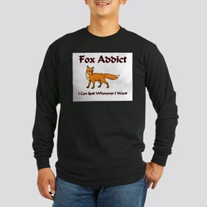 Fox Addict Long Sleeve Dark T-Shirt