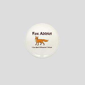Fox Addict Mini Button
