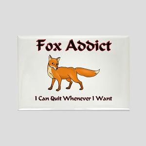 Fox Addict Rectangle Magnet