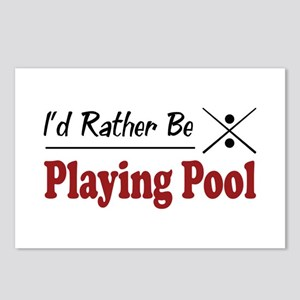 Rather Be Playing Pool Postcards (Package of 8)