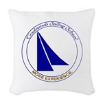 TW Logo Woven Throw Pillow