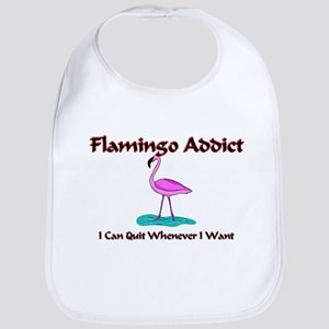 Flamingo Addict Bib
