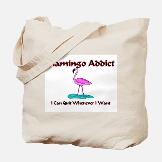 Flamingo Addict Tote Bag