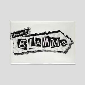 House of Glamma Rectangle Magnet