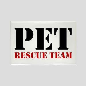 Pet Rescue Team Rectangle Magnet