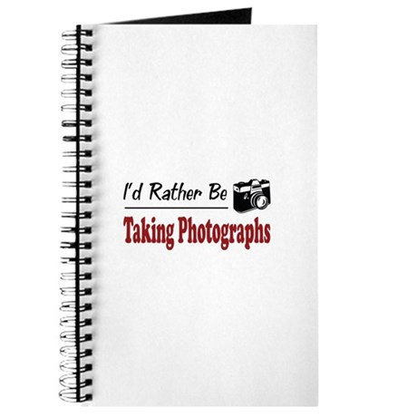 Rather Be Taking Photographs Journal
