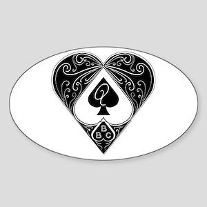 Bbc & Queen Of Spades 2 Sticker