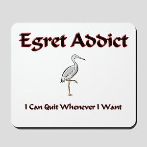 Egret Addict Mousepad