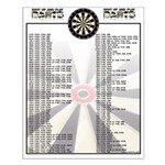 Out Chart - Shut Up And Play Darts