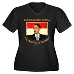 Obama for President of Indonesia Women's Plus Size