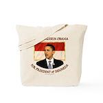 Obama for President of Indonesia Tote Bag