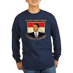 Obama for President of Indonesia Long Sleeve Dark
