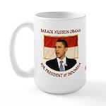 Obama for President of Indonesia Large Mug