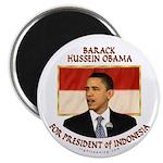 Obama for President of Indonesia Magnet
