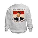 Obama for President of Indonesia Kids Sweatshirt