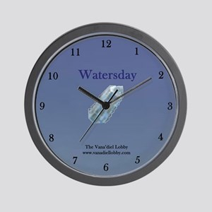Watersday Wall Clock