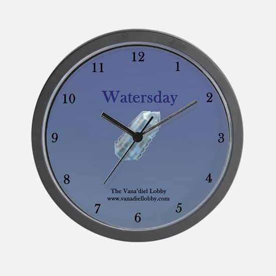 Watersday Wall Clock