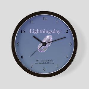 Lightningsday Wall Clock