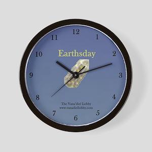 Earthsday Wall Clock