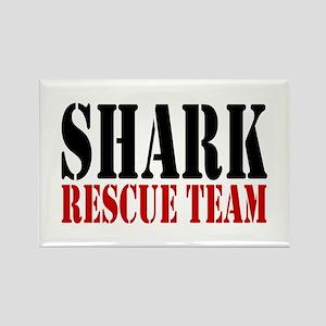 Shark Rescue Team Rectangle Magnet