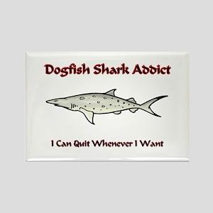 Dogfish Shark Addict Rectangle Magnet