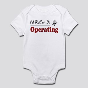 Rather Be Operating Infant Bodysuit