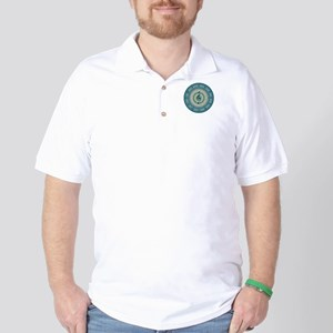 Colorful Circle of Fifths Golf Shirt
