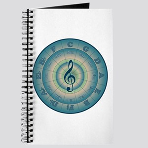 Colorful Circle of Fifths Journal