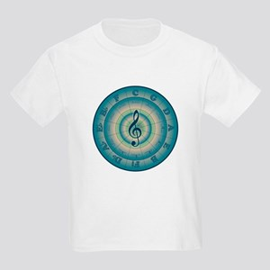 Colorful Circle of Fifths Kids Light T-Shirt