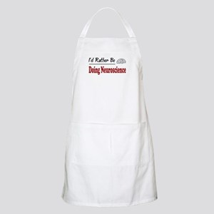 Rather Be Doing Neuroscience BBQ Apron