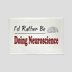 Rather Be Doing Neuroscience Rectangle Magnet